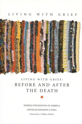 Living with Grief Before and after the Death  2007 edition cover