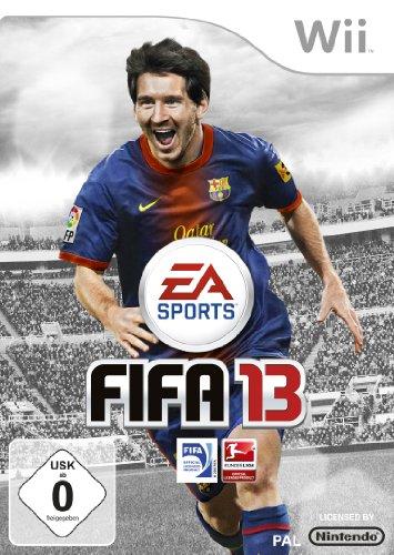 FIFA 13 Nintendo Wii artwork