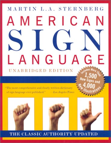 American Sign Language Dictionary Unabridged   1999 (Unabridged) edition cover