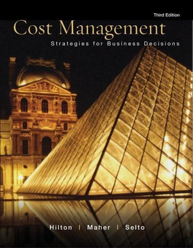 Cost Management Stratagies for Business Decisions 3rd 2006 (Revised) edition cover