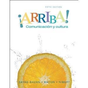 ARRIBA!  (LOOSELEAF) N/A 9780205762088 Front Cover