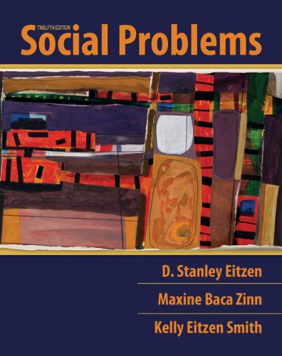 Social Problems  12th 2011 edition cover