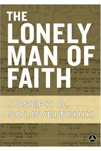 Lonely Man of Faith   2006 edition cover