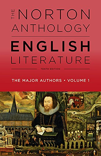 The Norton Anthology of English Literature, the Major Authors:   2018 9780393603088 Front Cover