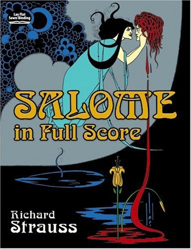 Salome in Full Score  N/A edition cover