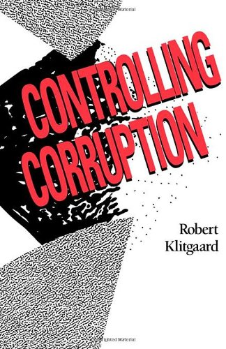 Controlling Corruption   1988 edition cover