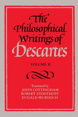 Philosophical Writings of Descartes   1984 edition cover
