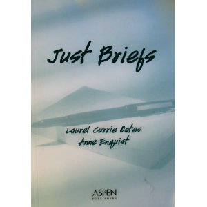 Just Briefs   2003 (Student Manual, Study Guide, etc.) 9780735537088 Front Cover