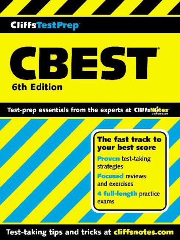 CBEST California Basic Educational Skills Test 6th 2000 (Revised) edition cover