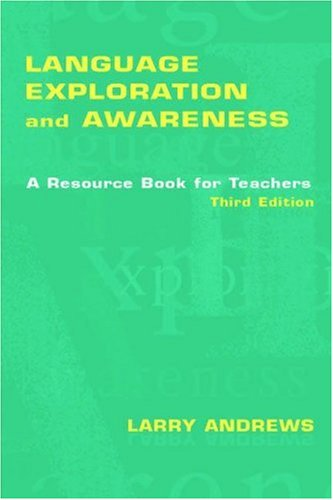 Language Exploration and Awareness A Resource Book for Teachers 3rd 2006 (Revised) edition cover