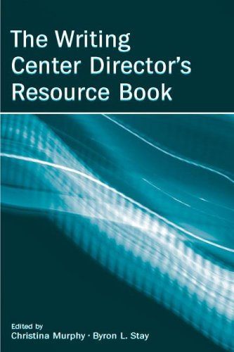 Writing Center Director's Resource Book   2006 edition cover