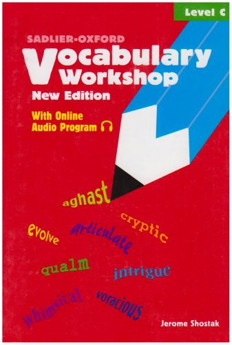 Vocabulary Workshop : Level C 1st edition cover