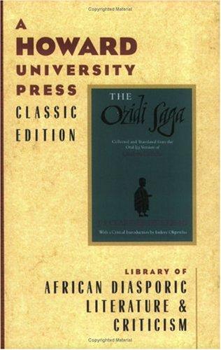 Ozidi Saga  N/A edition cover