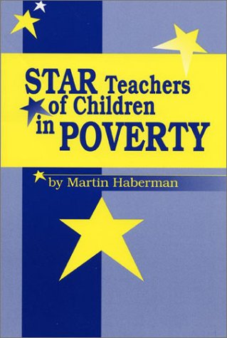 Star Teachers of Children in Poverty   1995 9780912099088 Front Cover