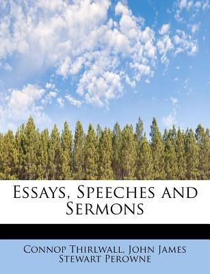 Essays, Speeches and Sermons  N/A 9781115712088 Front Cover