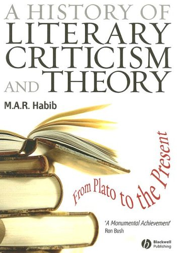 History of Literary Criticism and Theory From Plato to the Present  2007 edition cover