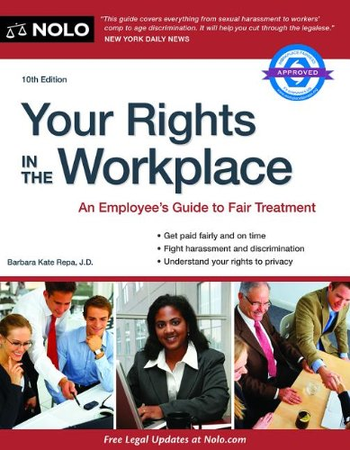 Your Rights in the Workplace  10th 2014 edition cover