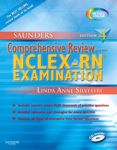 Comprehensive Review for the NCLEX-RN� Examination  4th 2007 edition cover