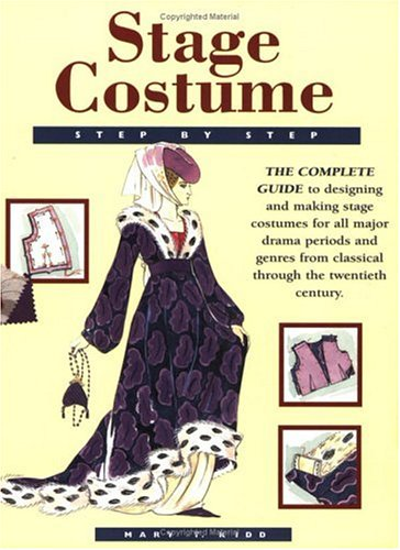 Stage Costume Step by Step   2002 edition cover