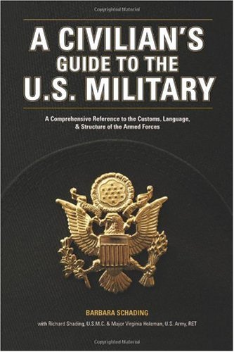 Civilian's Guide to the U. S. Military A Comprehensive Reference to the Customs, Language and Structure of the Armed Forces  2006 9781582974088 Front Cover