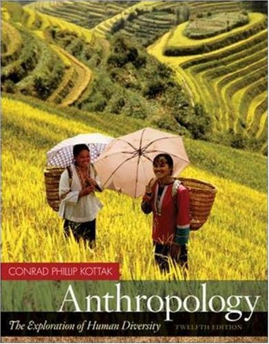 Anthropology The Exploration of Human Diversity with Living Anthropology Student CD 12th 2008 (Revised) 9780073315089 Front Cover