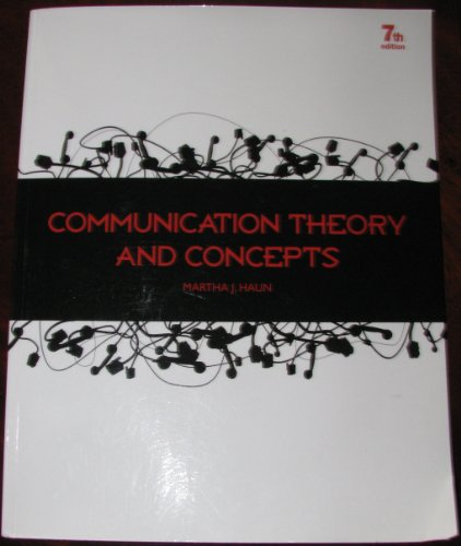 COMMUNICATION THEORY >CUSTOM< N/A 9780078039089 Front Cover