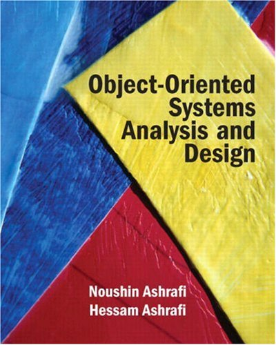 Object Oriented Systems Analysis and Design   2009 edition cover