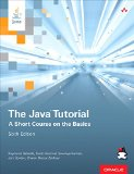 Java Tutorial A Short Course on the Basics 6th 2015 edition cover