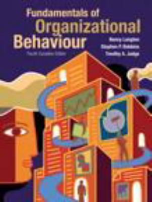 Fundamentals of Organizational Behaviour  4th 2011 9780135123089 Front Cover
