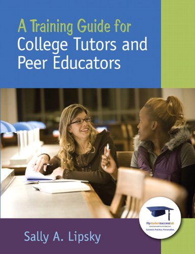 Training Guide for College Tutors and Peer Educators   2011 edition cover