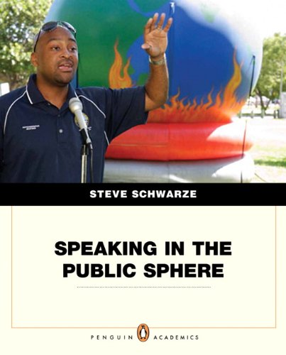 Speaking in the Public Sphere   2012 edition cover