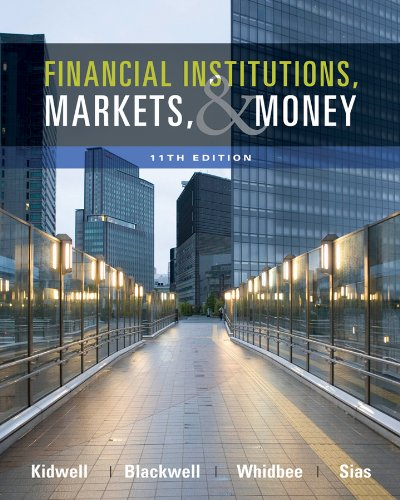 Financial Institutions, Markets, and Money  11th 2012 edition cover