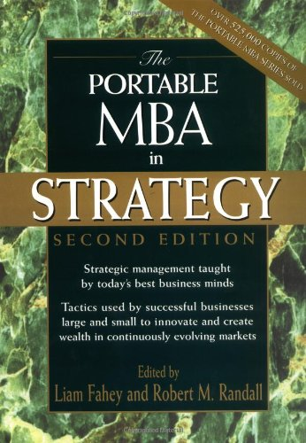 Portable MBA in Strategy  2nd 2001 (Revised) edition cover
