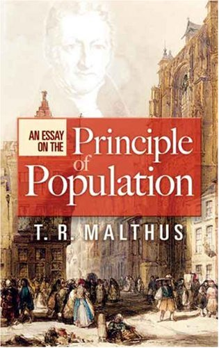 Essay on the Principle of Population   2007 9780486456089 Front Cover