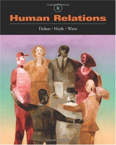 Human Relations  4th 2011 edition cover