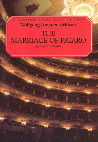 Marriage of Figaro (Le Nozze Di Figaro)  N/A edition cover