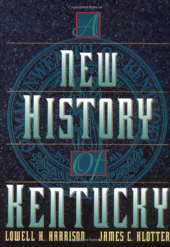 New History of Kentucky   1997 edition cover