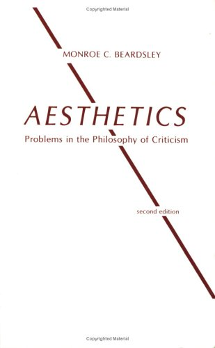 Aesthetics Problems in the Philosophy of Criticism 2nd 1981 (Reprint) edition cover
