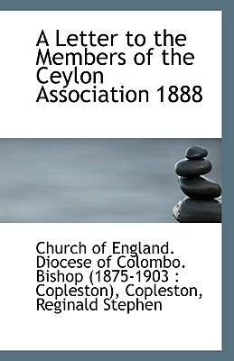 Letter to the Members of the Ceylon Association 1888 N/A edition cover