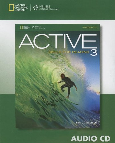 ACTIVE SKILLS FOR READING 3-AUDIO CD    N/A 9781133308089 Front Cover