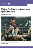 Major Problems in American Sport History  2nd 2015 edition cover