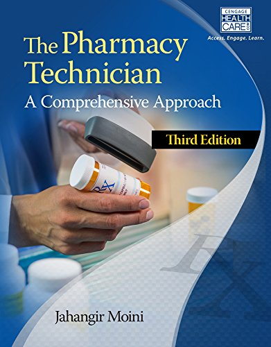 The Pharmacy Technician: A Comprehensive Approach  2015 edition cover