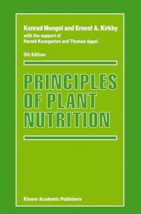 Principles of Plant Nutrition  5th 2001 (Revised) edition cover