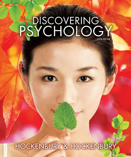Discovering Psychology W/Three-Dimensional Brain and Study Guide  6th 2013 edition cover