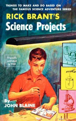 Rick Brant's Science Projects  N/A 9781557090089 Front Cover