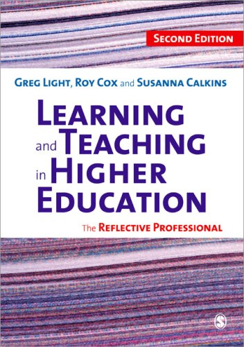 Learning and Teaching in Higher Education The Reflective Professional 2nd 2009 edition cover