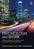 Psychology and Work Perspectives on Industrial and Organizational Psychology  2016 9781848725089 Front Cover
