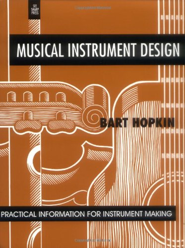 Musical Instrument Design Practical Information for Instrument Making N/A edition cover