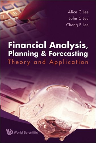 Financial Analysis, Planning and Forecasting Theory and Application 2nd 2009 edition cover