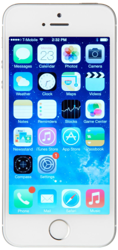 Apple iPhone 5s - 64GB - Silver (Unlocked) product image